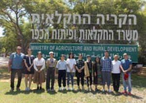 סמינר חקלאי מסין יולי 2018