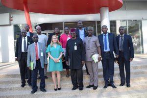 המשלחת הניגרית בסמינר החקלאות